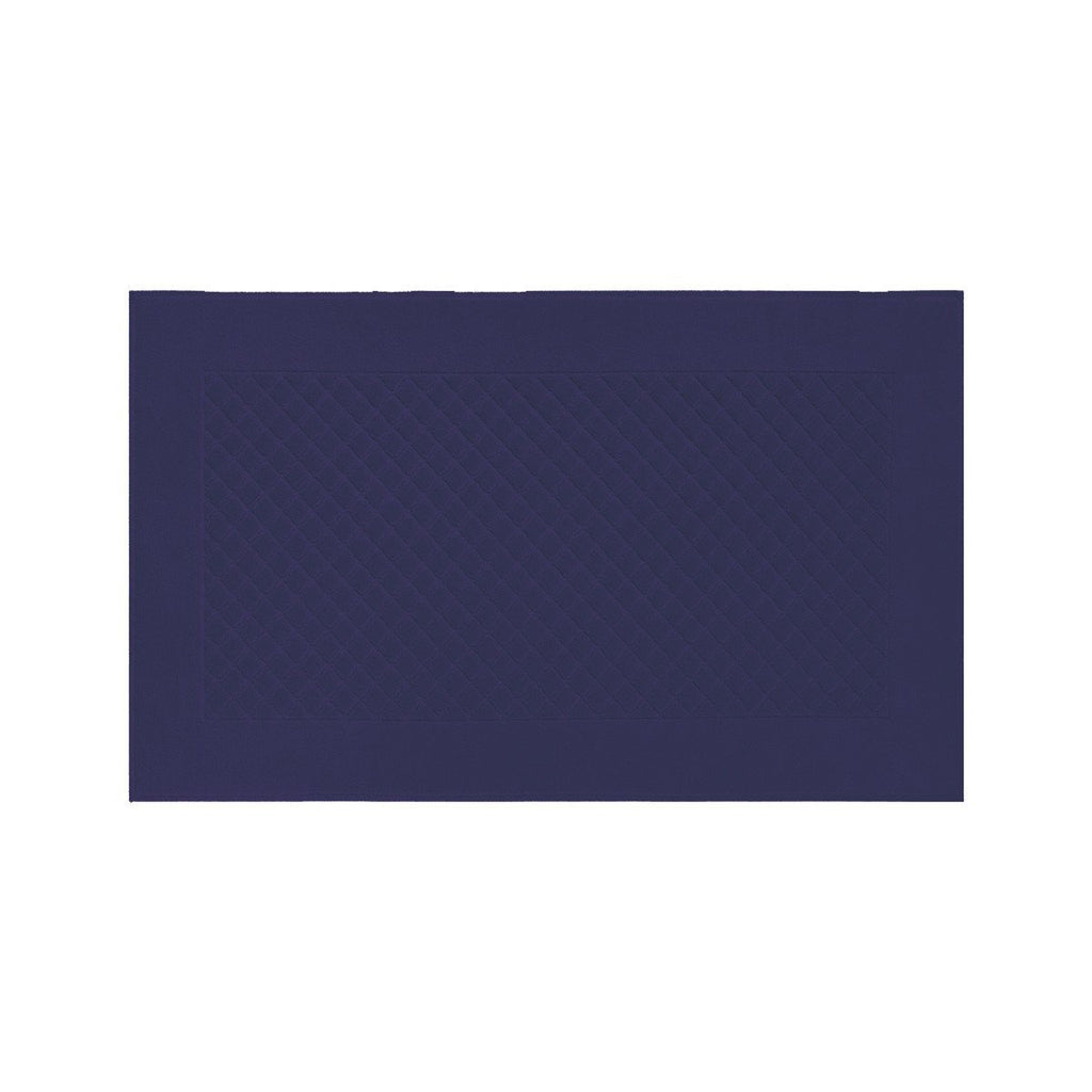 Fig Linens - Yves Delorme Etoile Marine - Navy Blue Bath Mat