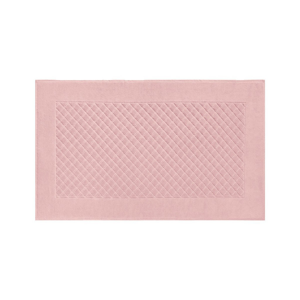 Fig Linens - Yves Delorme Etoile The Bath Towels - Rose pink Bath Mat