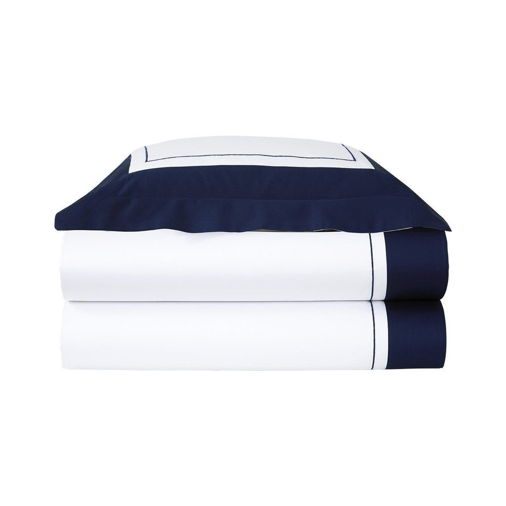 Fig Linens - Yves Delorme Lutece Marine Bedding
