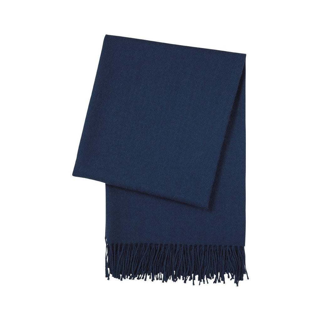 Triomphe Marine Throw Blanket by Yves Delorme | Fig Linens
