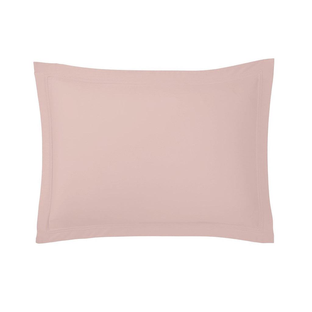 Fig Linens - Triomphe Thé Rose Bedding by Yves Delorme - Pink Shams
