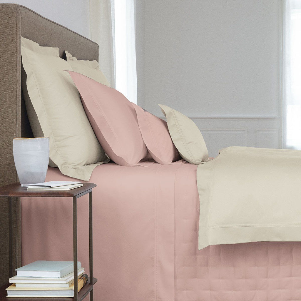 Triomphe Thé Rose Bedding by Yves Delorme | Fig Linens