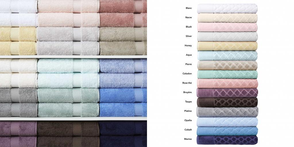 Fig Linens - Etoile Bath Towels by Yves Delorme