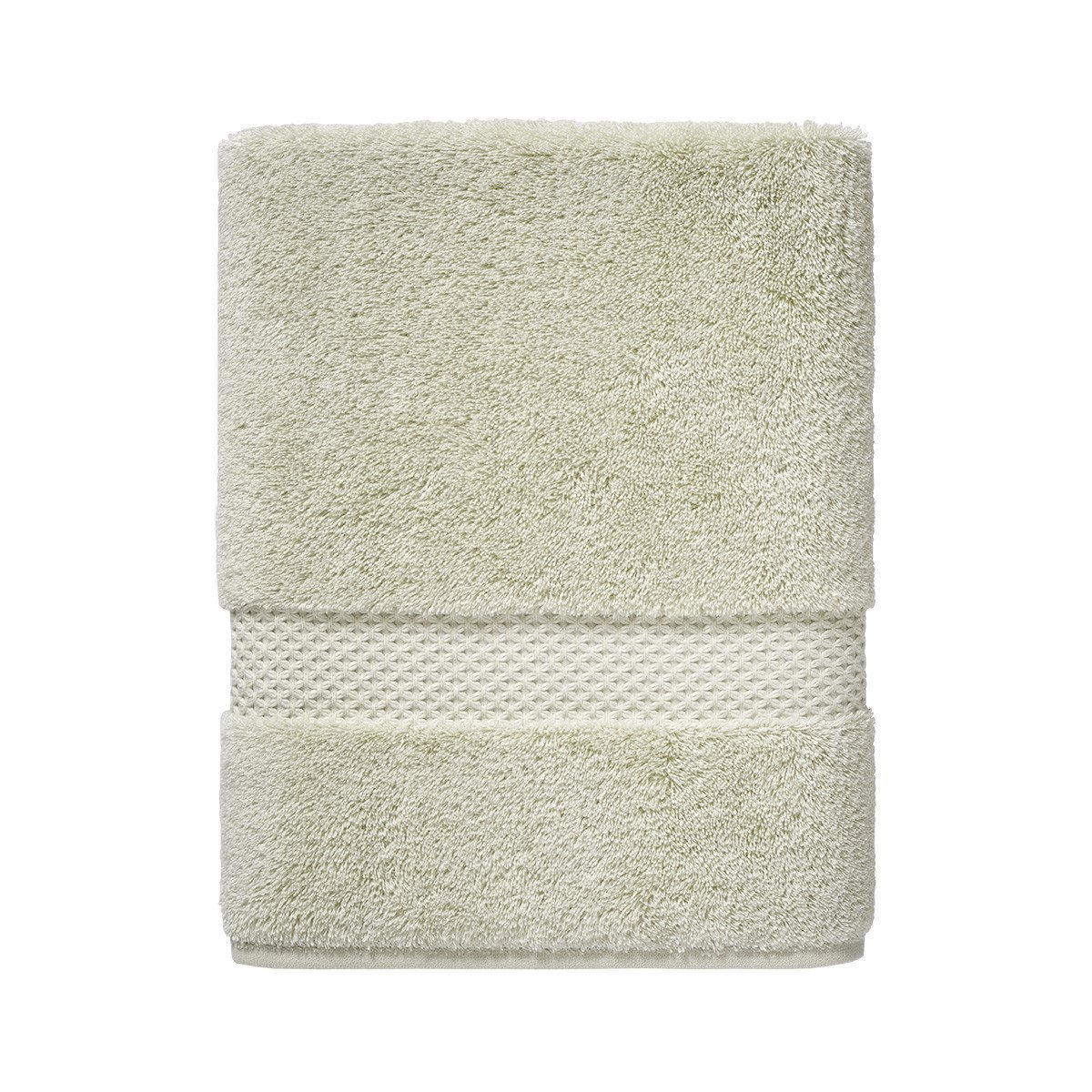 Etoile Sauge Bath Towels by Yves Delorme