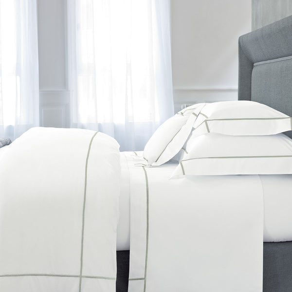 Athena Sauge Bedding by Yves Delorme | Fig Fine Linens and Home