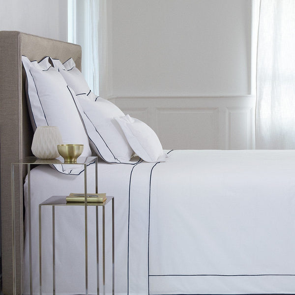 Flandre Marine Bedding by Yves Delorme | Fig Fine Linens and Home