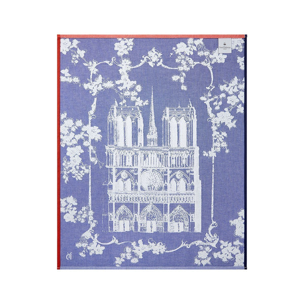 Back - Yves Delorme Paris Madame Tea Towels - Set of 4 | Fig Linens