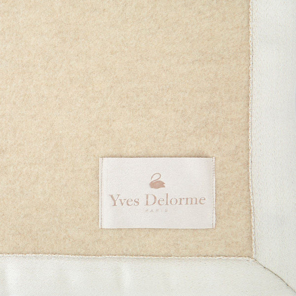 Duchesse Pierre Stone Blanket by Yves Delorme | Fig Linens