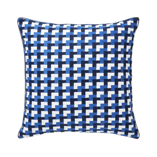 Zelliges Azur Decorative Pillow by Iosis | Fig Linens and Home
