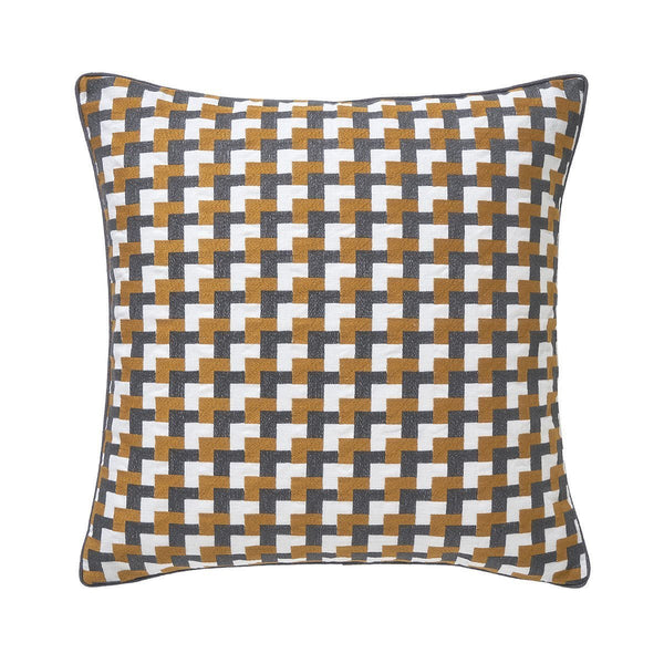 Zelliges Safran Pillow by Iosis | Fig Linens and Home
