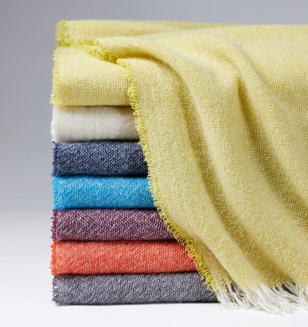 Ciarra Cashmere Throws by Sferra | Fig Linens and Home