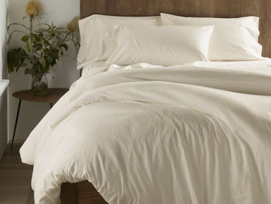 300 TC Organic Sateen Undyed Bedding by Coyuchi | Fig Linens