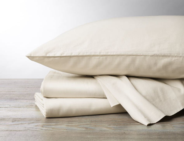 300 TC Organic Sateen Undyed Duvets and Shams by Coyuchi | Fig Linens