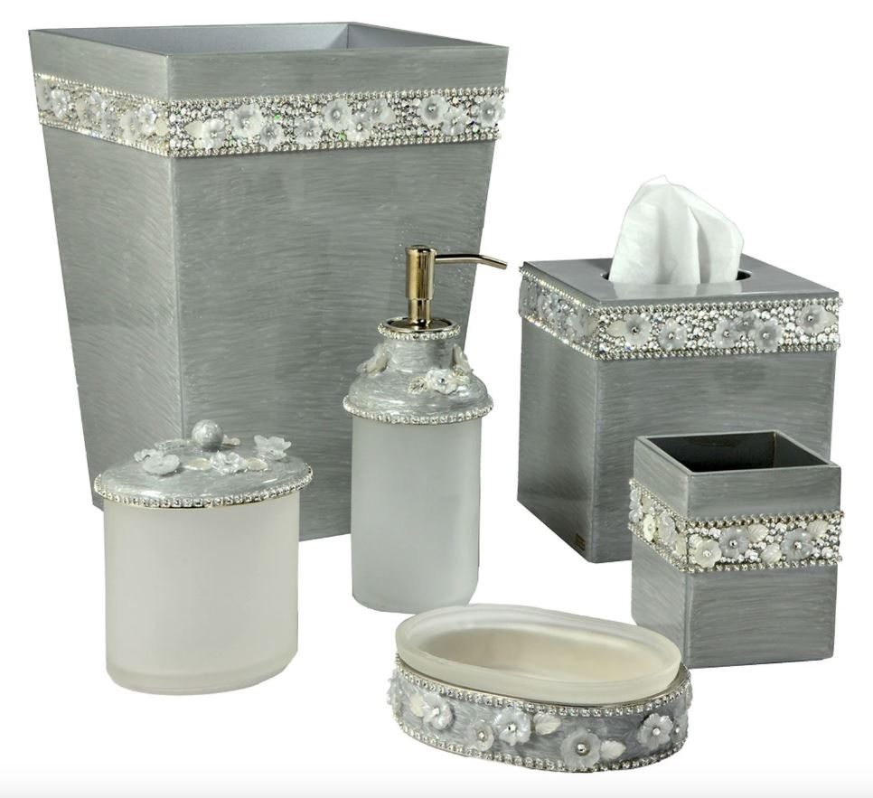 Chantilly Bath Accessories by Mike + Ally