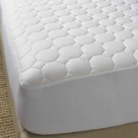 Pure Cotton Mattress Pad by Scandia Home | Fig Linens