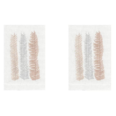 Peach Kelp Linen Guest Towels (Set of 2) | Fig Linens and Home
