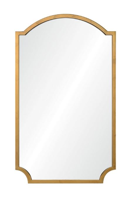 20670-dgl - Distressed Gold Leaf Wall Mirror by Mirror Image Home | Fig Linens