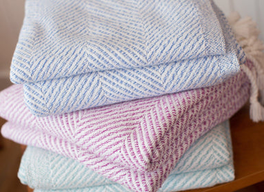 Newfield Throws by Brhams Mount | Fig Linens