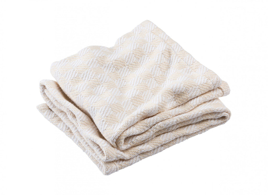Pogonia Natural Baby Blanket by Brahms Mount | Fig Linens