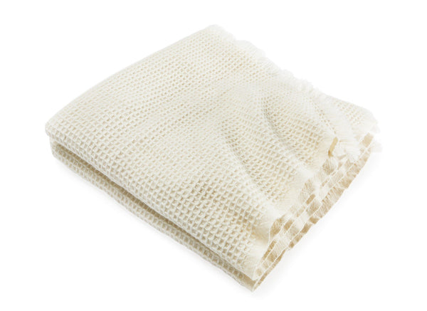 Searsport Natural Wool & Alpaca Throw by Brahms Mount | Fig Linens