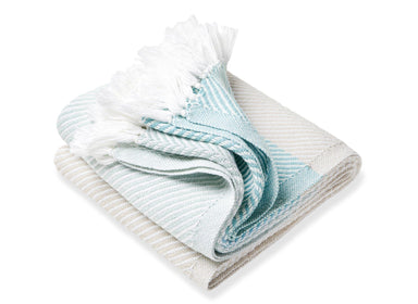 Sugarloaf Matka/Oyster/Surf Throw | Fig Linens and Home