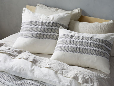 Fig Linens - Coyuchi Organic Bedding - Lost Coast Duvet and Shams