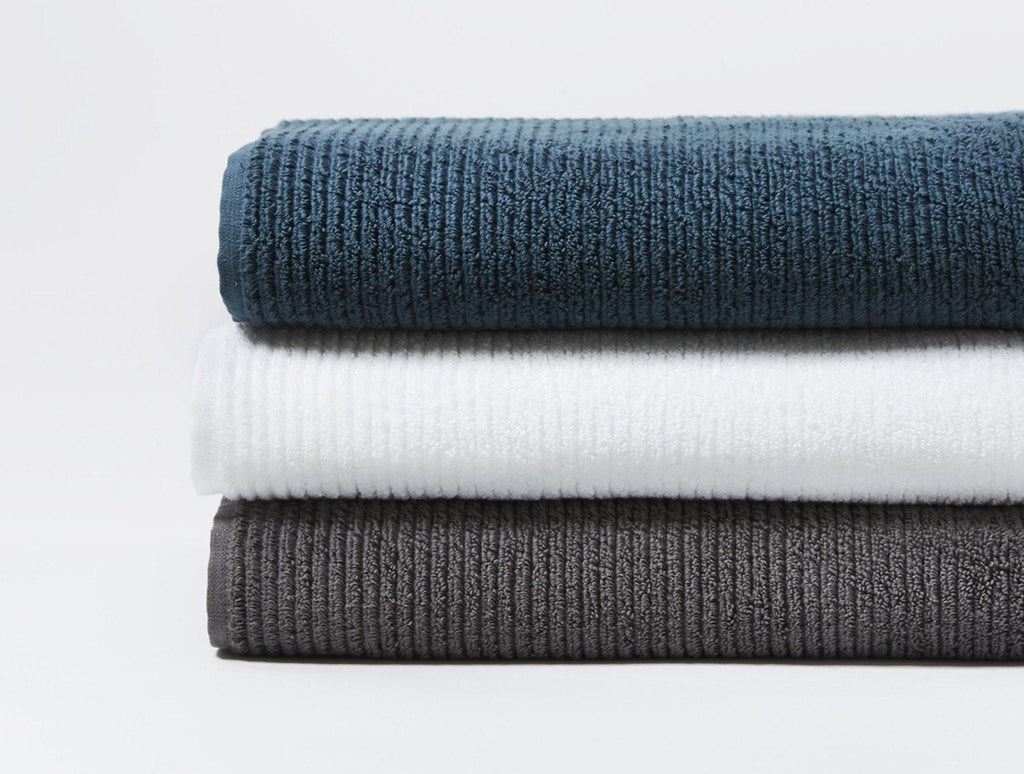 Fig Linens - Coyuchi Organic Bath Towels - Temescal Bath Towels and Bath Mat