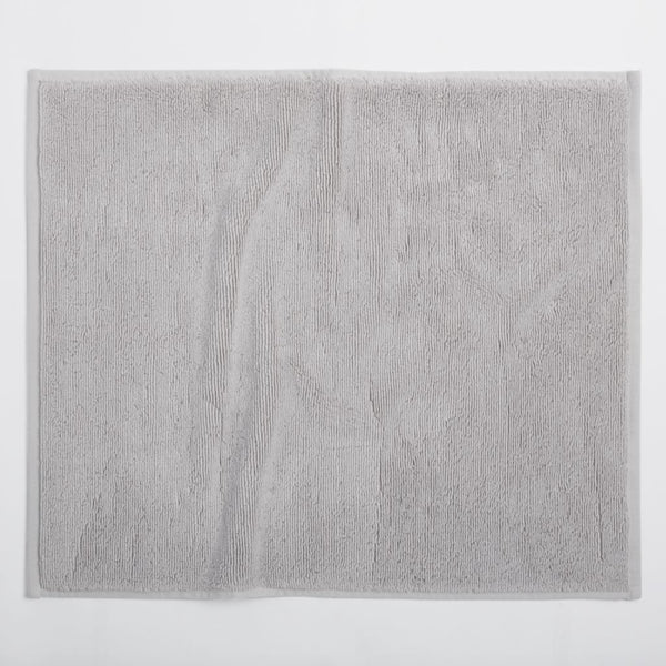 Cloud Loom Fog Organic Bath Mat by Coyuchi | Fig Linens