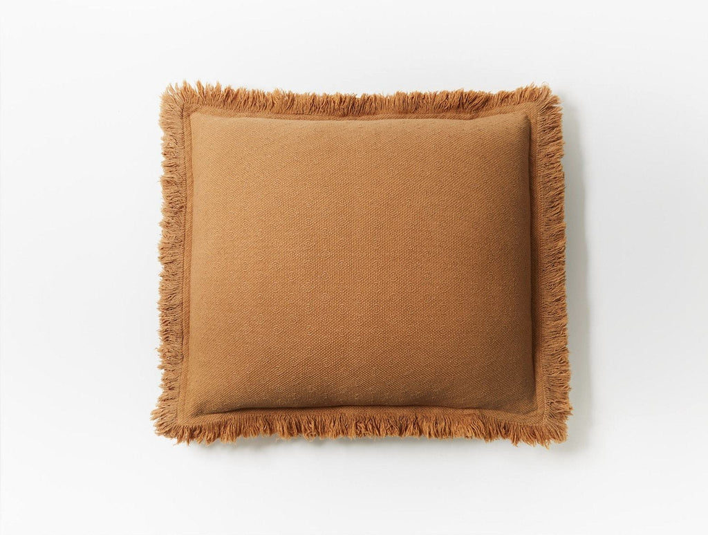 Loreto Ginger Decorative Pillow by Coyuchi | Fig Linens and Home
