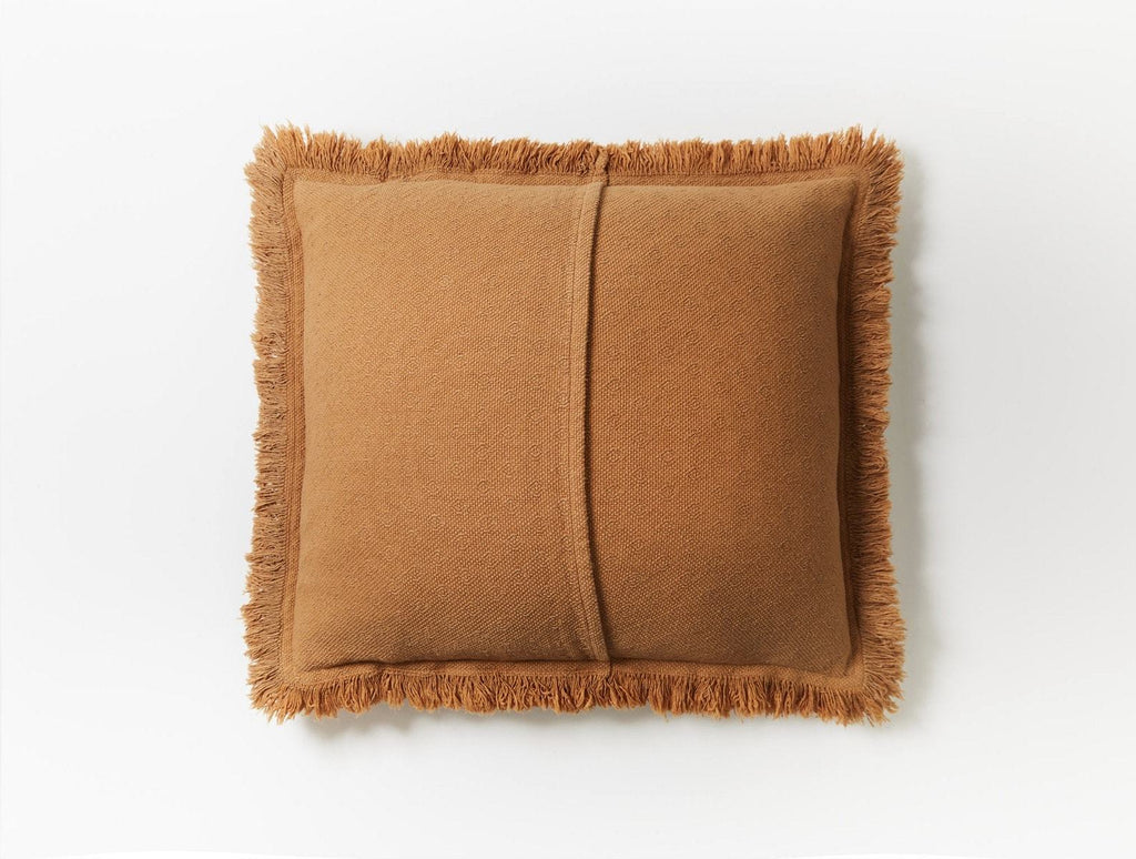 Loreto Ginger Decorative Throw Pillow by Coyuchi | Fig Linens and Home