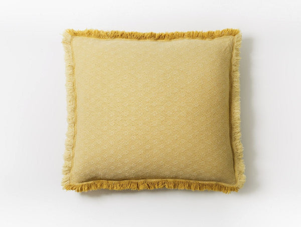 Loreto Straw Organic Decorative Pillow by Coyuchi | Fig Linens