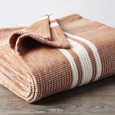 Cirrus Spice Organic Throw by Coyuchi | Fig Linens