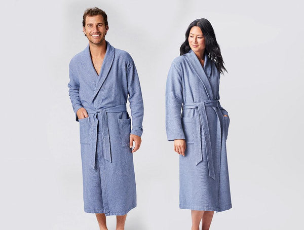 Mediterranean Organic Robes by Coyuchi | Fig Linens