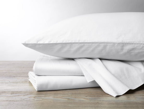 300 thread count organic sateen cotton bedding by Coyuchi - Fig Linens