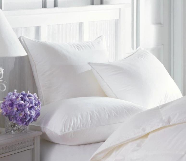 Centera Firmasoft White Down Pillow by Downright - Fig Linens