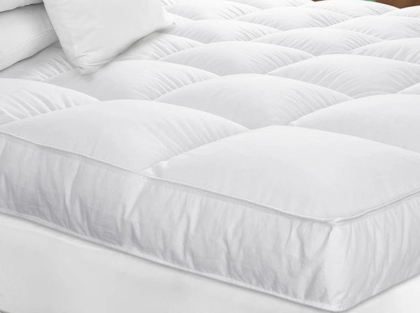 White Goose Down Mattress Topper by Downright | Fig Linens and Home