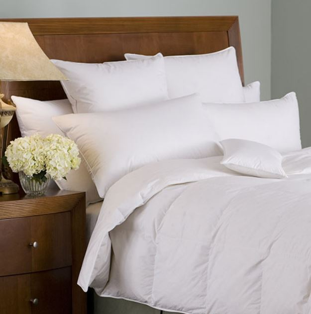 Organa 650+ White Goose Down Pillow by Downright