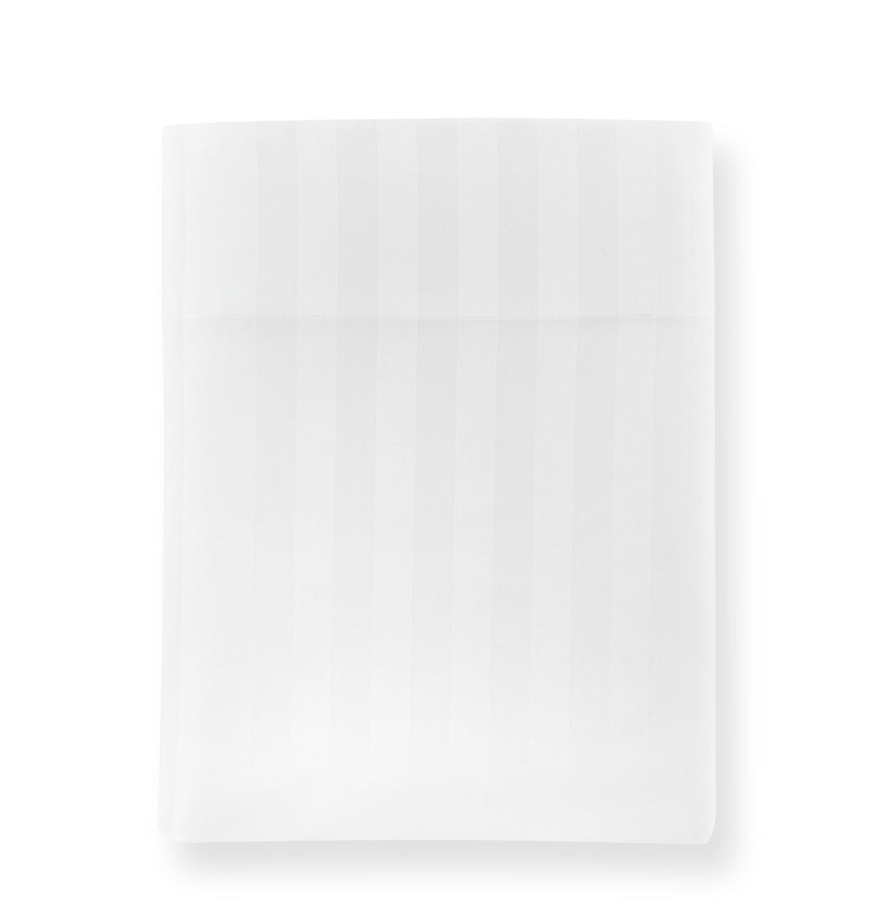 Fig Linens - Peacock Alley Duet 2 Flat Sheet - White