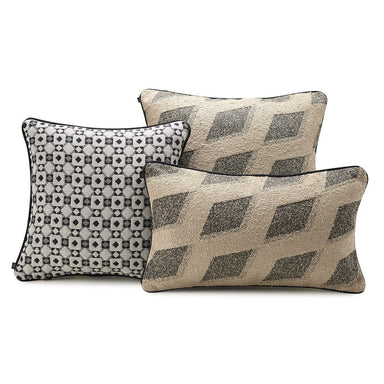 Echo Musk Decorative Pillows by Le Jacquard Français | Fig Linens