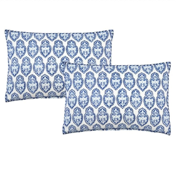 Naya Decorative Pillows by John Robshaw | Fig Linens and Home