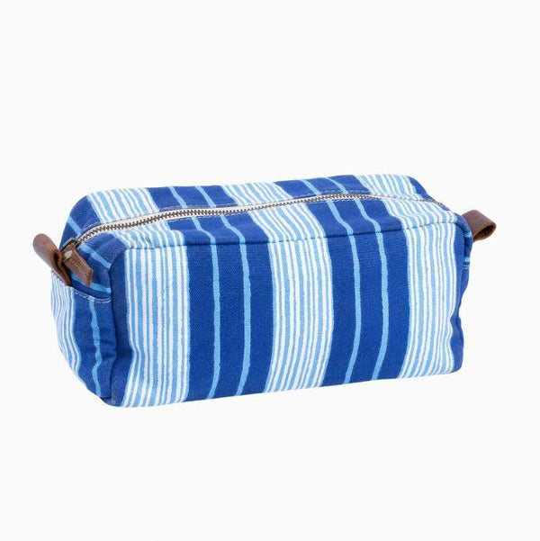 Vintage Stripe Toiletry Bag by John Robshaw | Fig Linens
