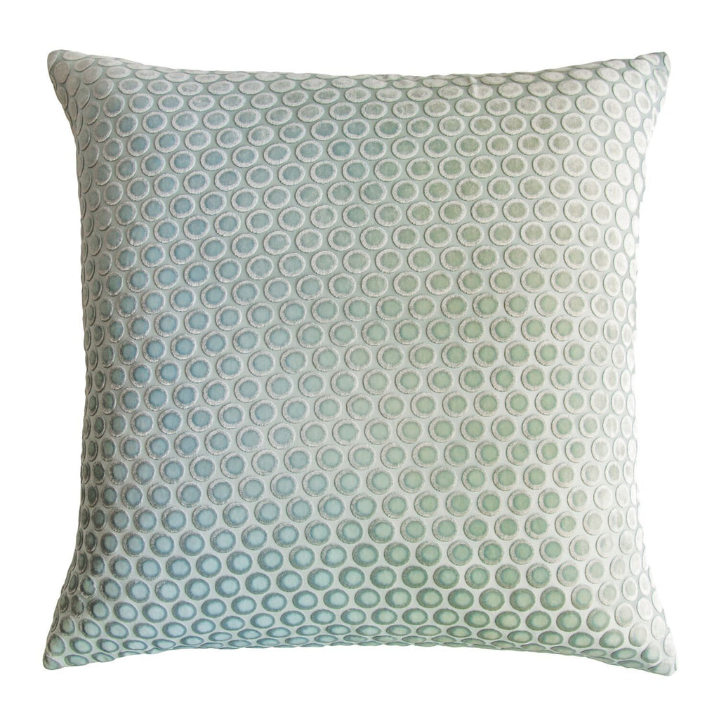 Dots Ice Velvet Pillows by Kevin O'Brien Studio | Fig Linens