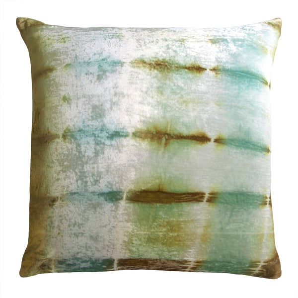 Ice Rorschach Velvet Pillow by Kevin O'Brien Studio | Fig Linens
