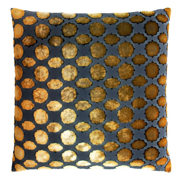 Mod Fretwork Copper Ivy Pillows by Kevin O'Brien Studio | Fig Linens