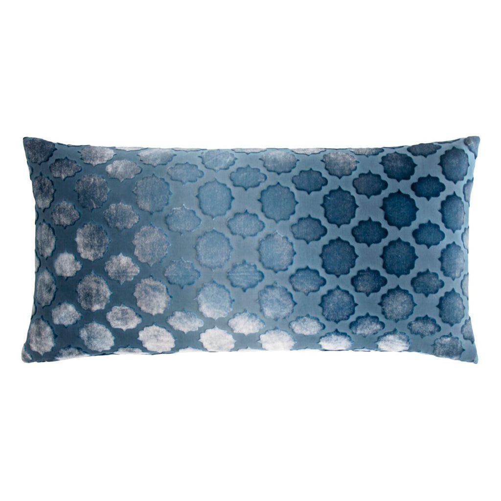Mod Fretwork Velvet Pillows by Kevin O'Brien Studio | Fig Linens