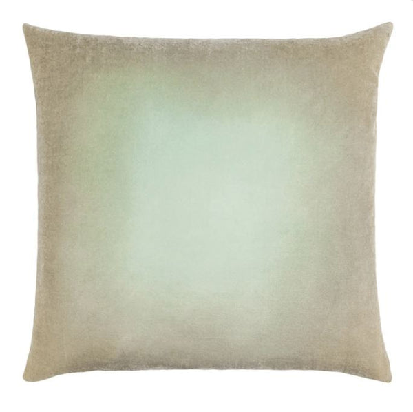 Ombre Pistachio Velvet Pillows by Kevin O'Brien Studio