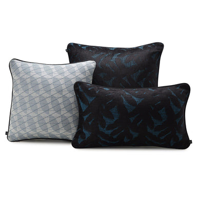 Empreinte Lagoon Pillows by Le Jacquard Français | Fig Linens