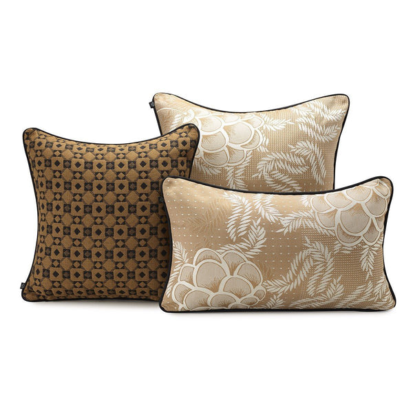 Canevas Cumin Decorative Pillows by Le Jacquard Français | Fig Linens