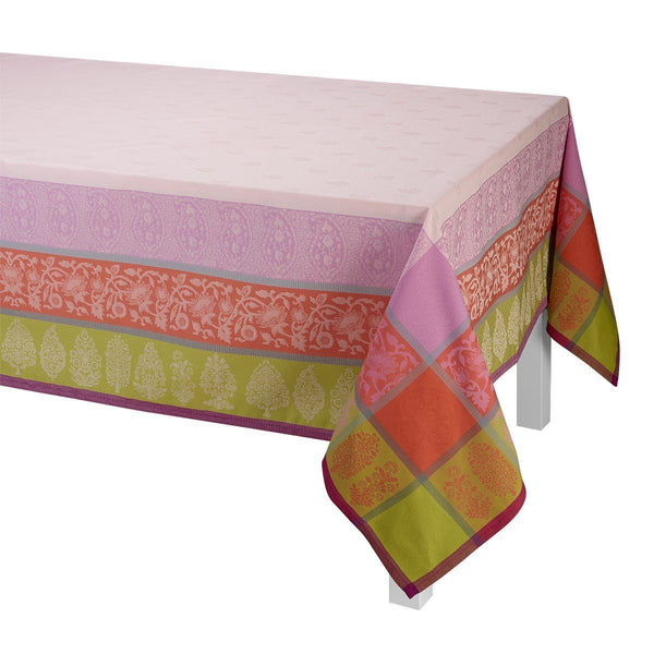 Sari Pink Table Linens by Le Jacquard Français | Fig Linens