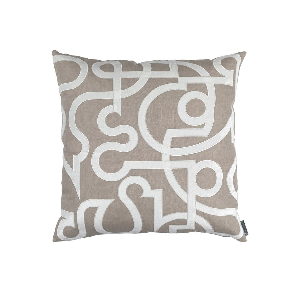 Geo Raffia Pillow by Lili Alessandra | Fig Linens and Home